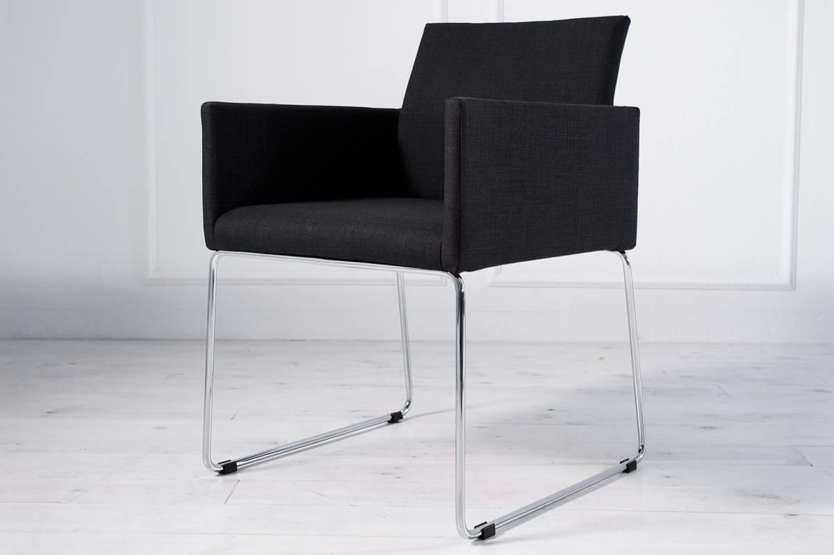 Stolička LIVORTE - čierna