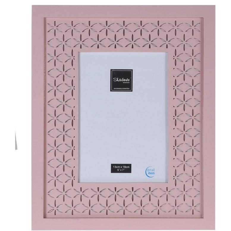 Fotorámček Trento ružová, 28,5 x 23,5 cm