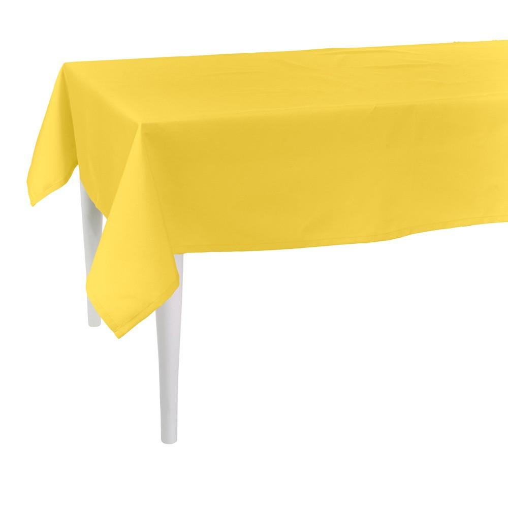 Žltý obrus Apolena Simply Yellow, 170×170cm