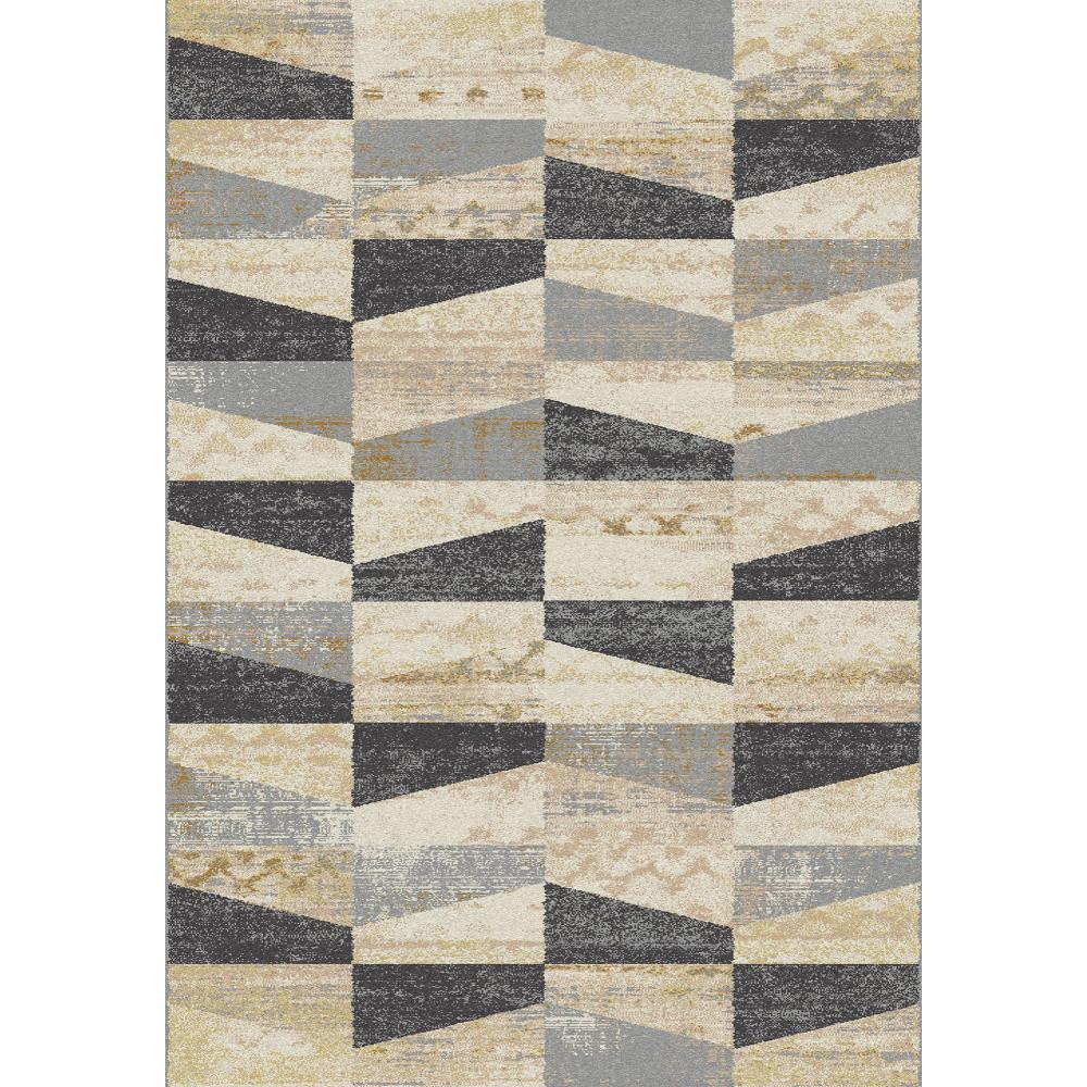 Sivo-béžový koberec Universal Fusion, 160x230cm