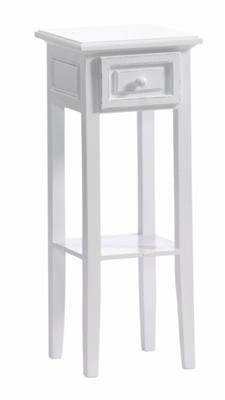 Bighome - Nočný stolík  GIANFAR - biela