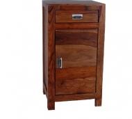 Furniture nábytok  Masívny nočný stolík z Palisanderu  Jádgár  42x35x80 cm