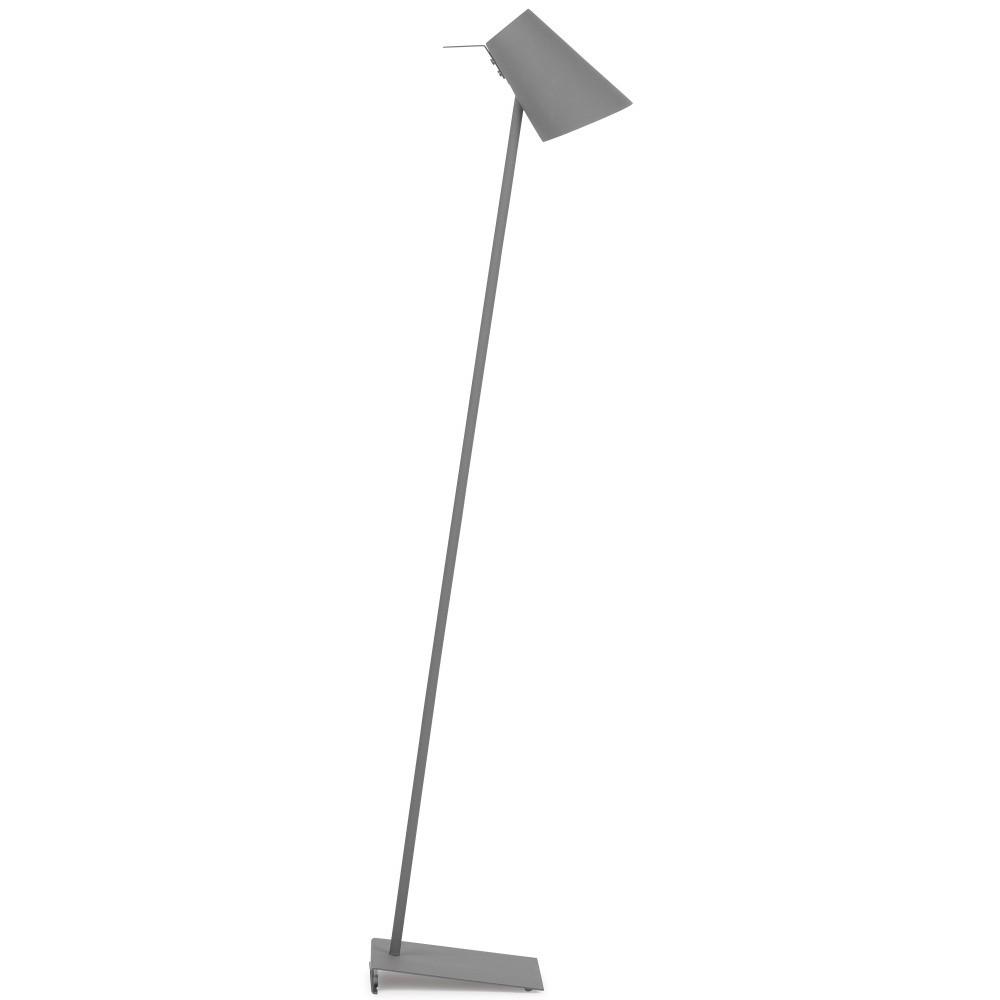 Sivá stojacia lampa Citylights Cardiff