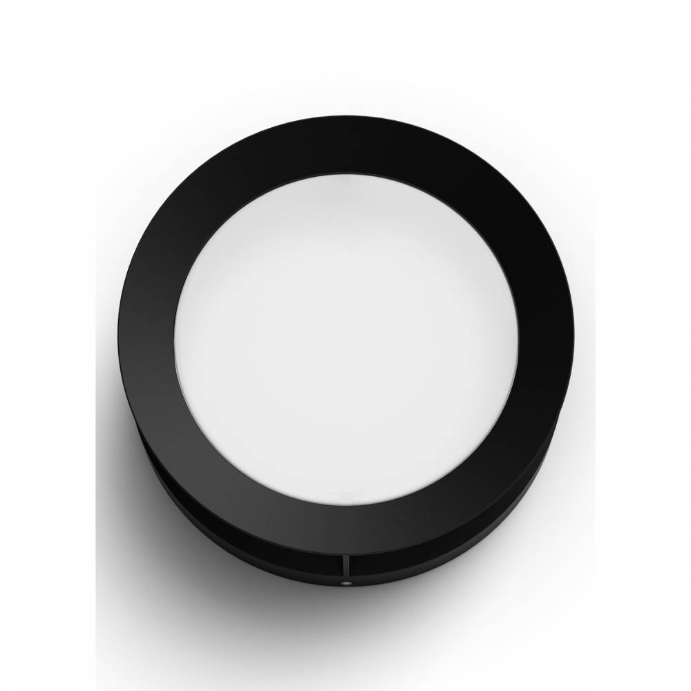 Philips 17390/30/P0 Actea Vonkajšie nástenné LED svietidlo 19 cm, čierna