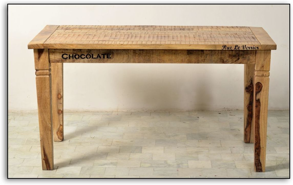 Jedálenský stôl RUSTIKA