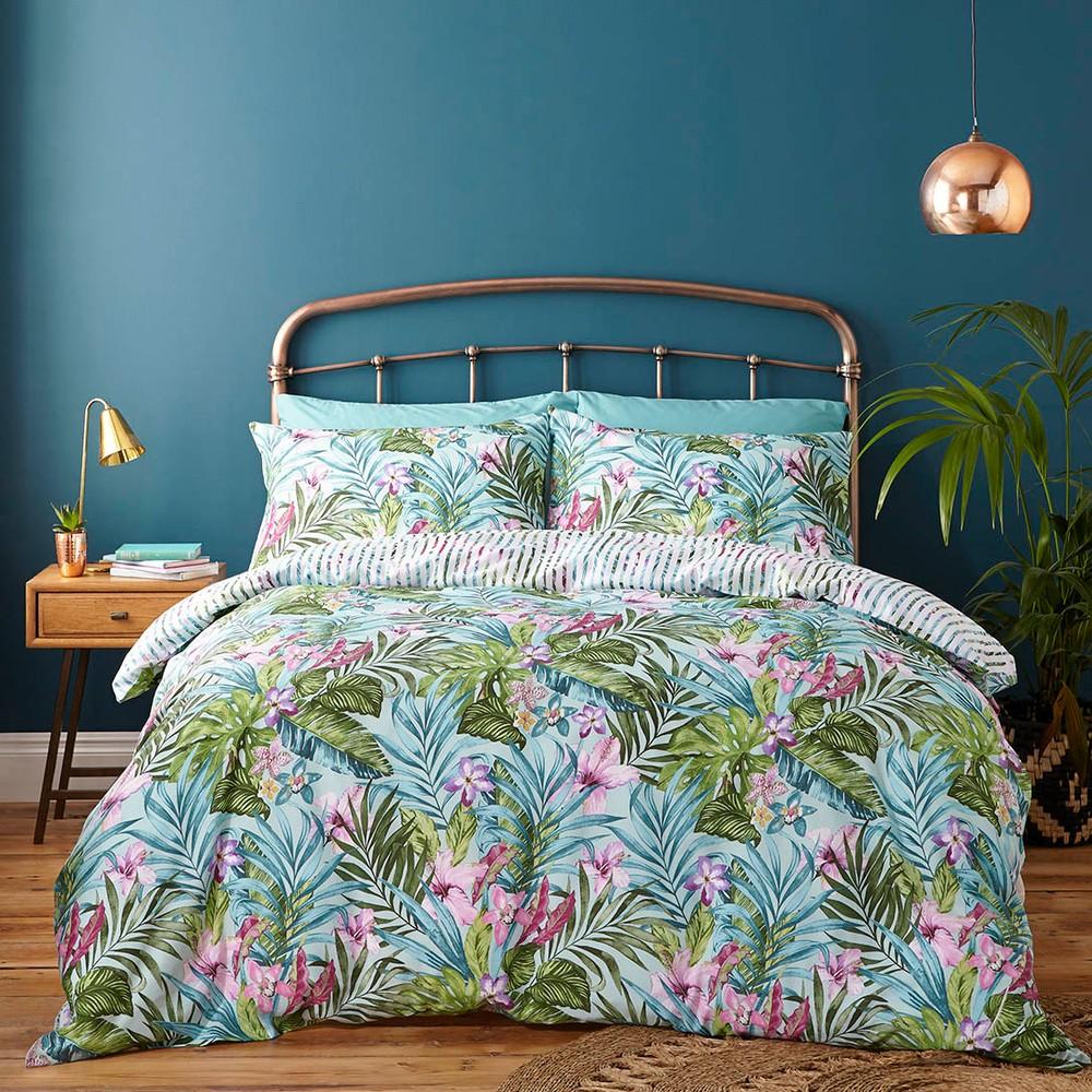 Obliečky na jednolôžko Catherine Lansfield Tropical, 135×200cm