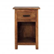 Nočný stolík z masívu 45x35x50
