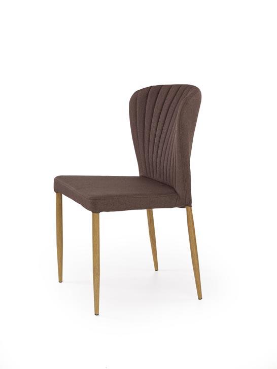 Jedálenská stolička K236 (hnedá)