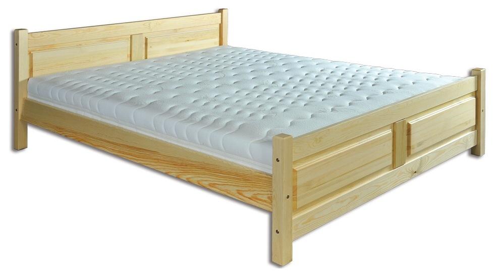 Manželská posteľ 140 cm LK 115 (masív)