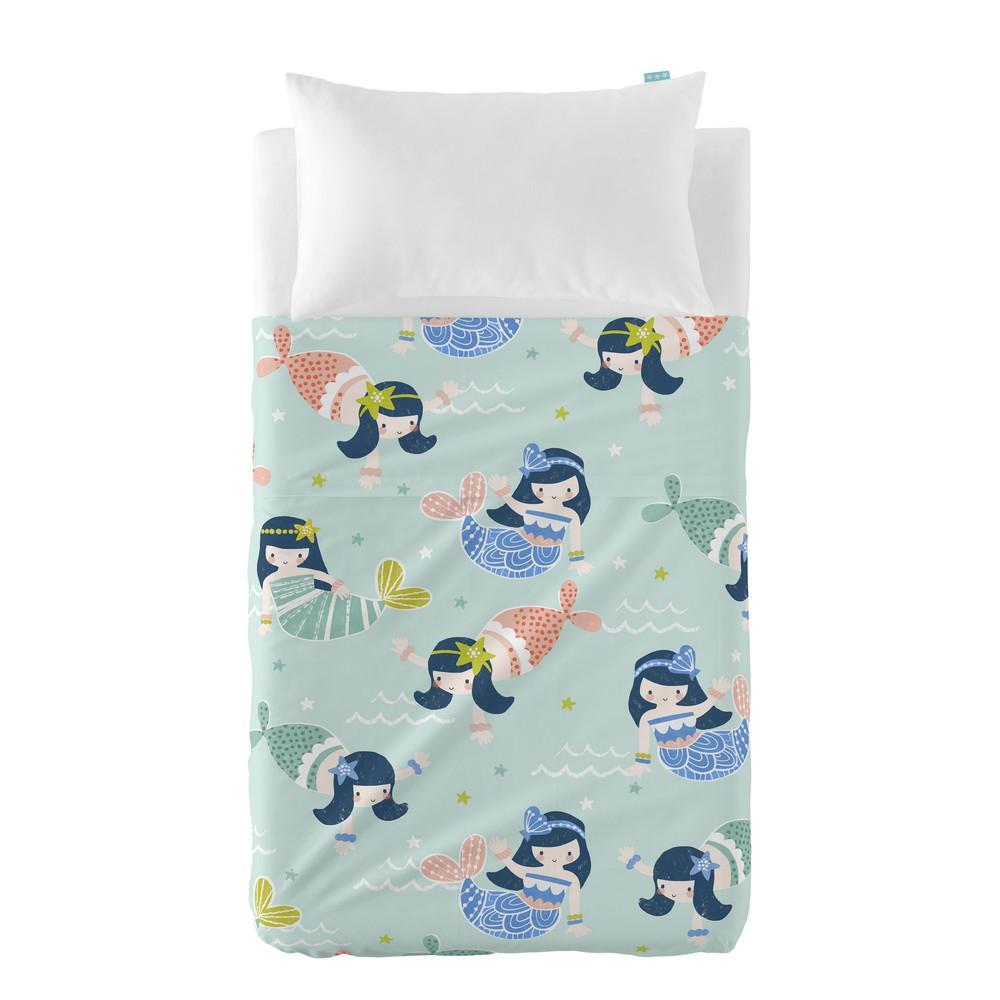 Prikrývka a obliečka na vankúš Moshi Moshi Seamaid, 120 x 180 cm