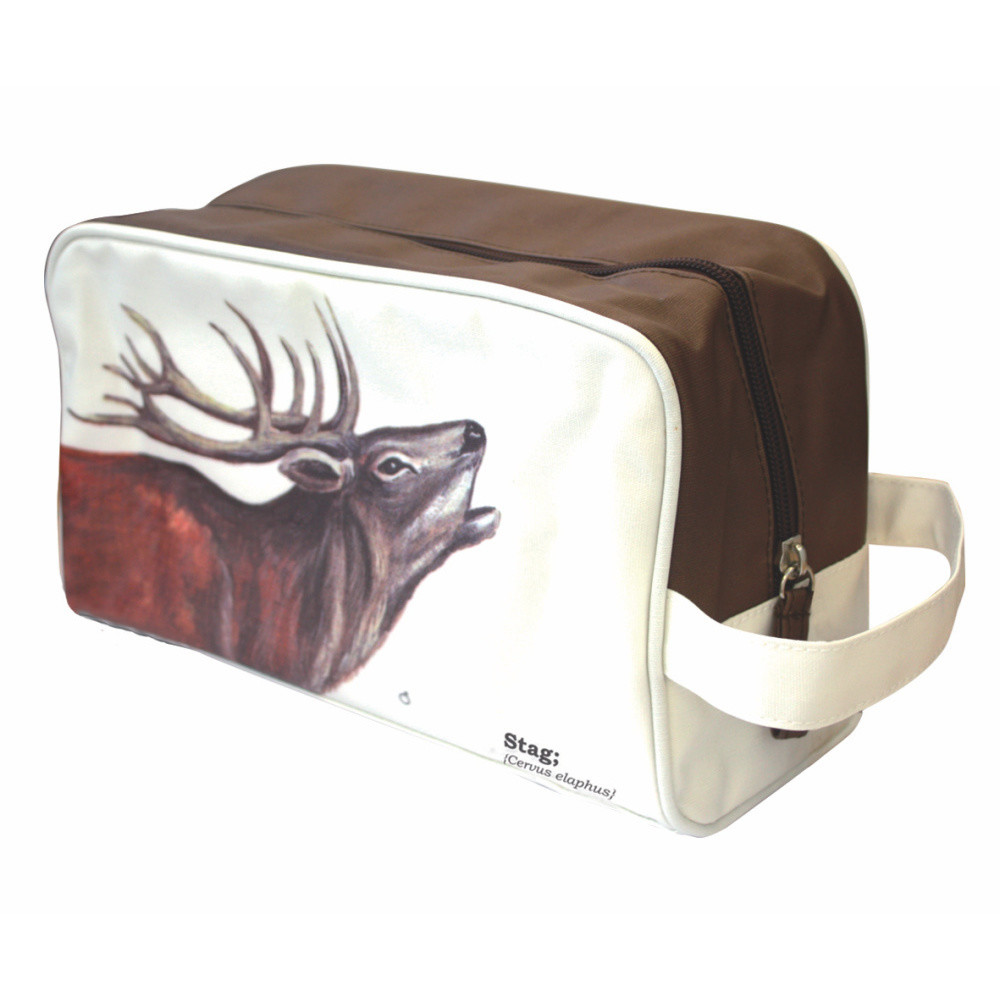 Kozmetická taštička Gift Republic Wild Animals Stag