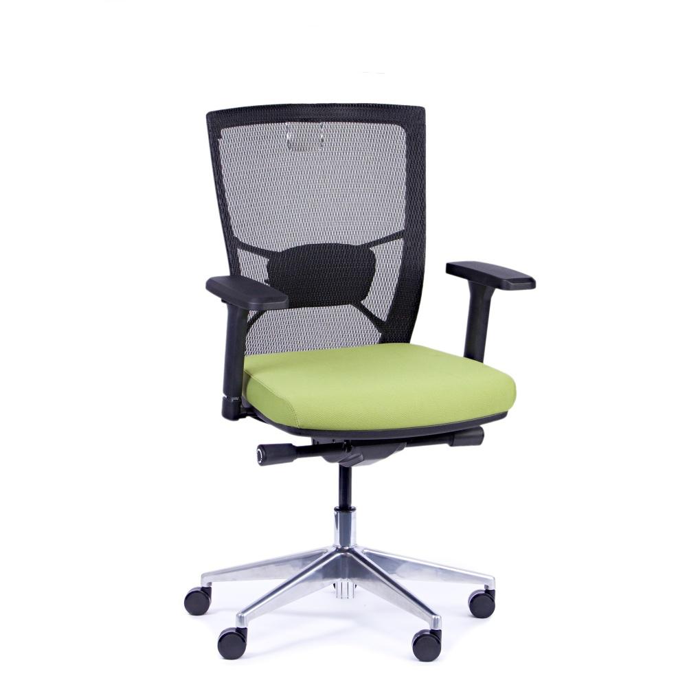 Rauman Kancelárska stolička Fiore, zelená bez hlavové opierky FIORE BMF B11