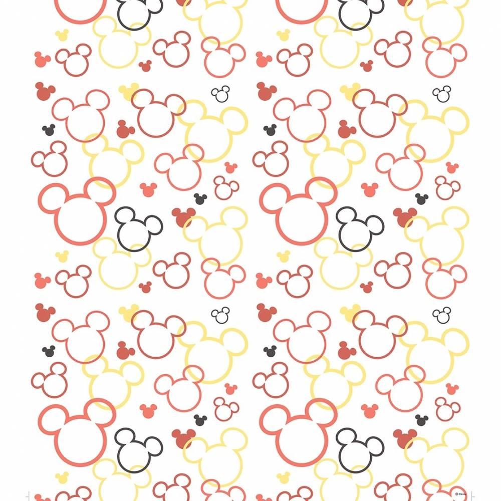 AG Art Detská fototapeta Mickey a Minnie červená, 53 x 1005 cm