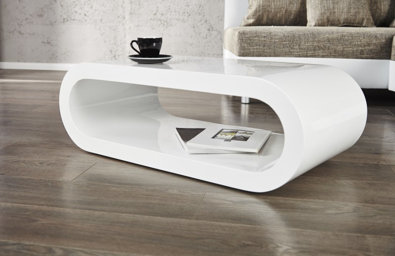Konferenčný stolík RETRO COOL II - biela