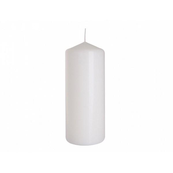 Dekoratívna sviečka Classic Maxi biela, 25 cm