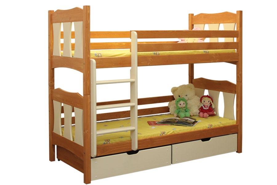 Bradop Poschodová posteľ Vojtíšek (základné prevedenie) B407-80x180