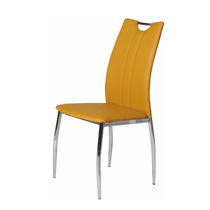 Jedálenská stolička Oliva žltá