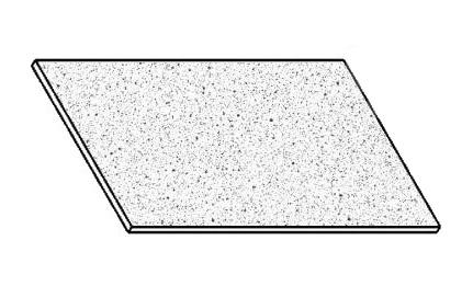 PORFYR pracovná doska 100 cm