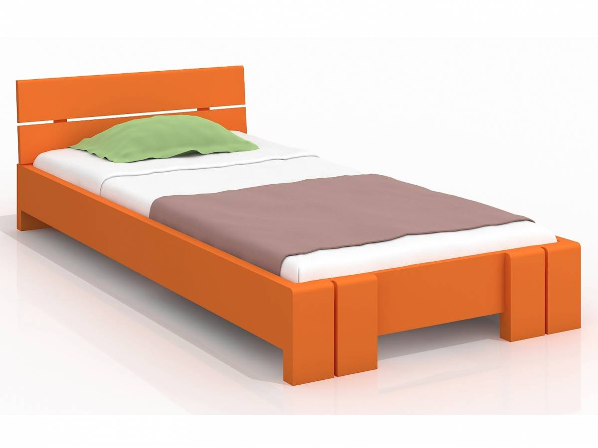 Jednolôžková posteľ 120 cm Naturlig Kids Tosen (borovica) (s roštom)