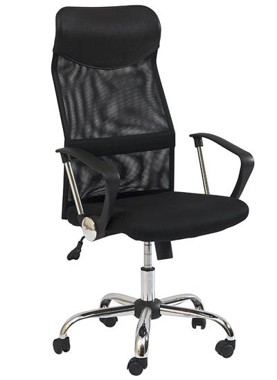 K-025 kancelárske kreslo, čierne
