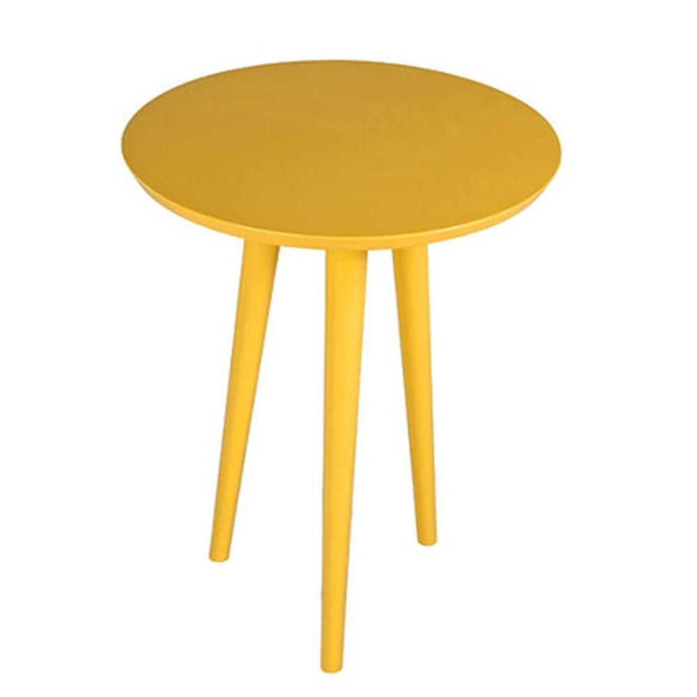 Žltý príručný stolík Durbas Style Tweet