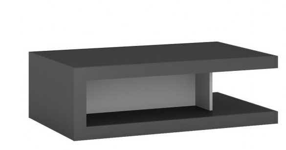 Konferenčný stolík Lyon LYOT02   Farba: sivý platinum / sivý lesk