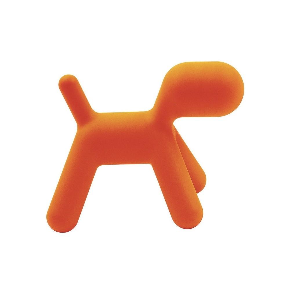 Oranžová stolička Magis Puppy, dĺžka 56 cm