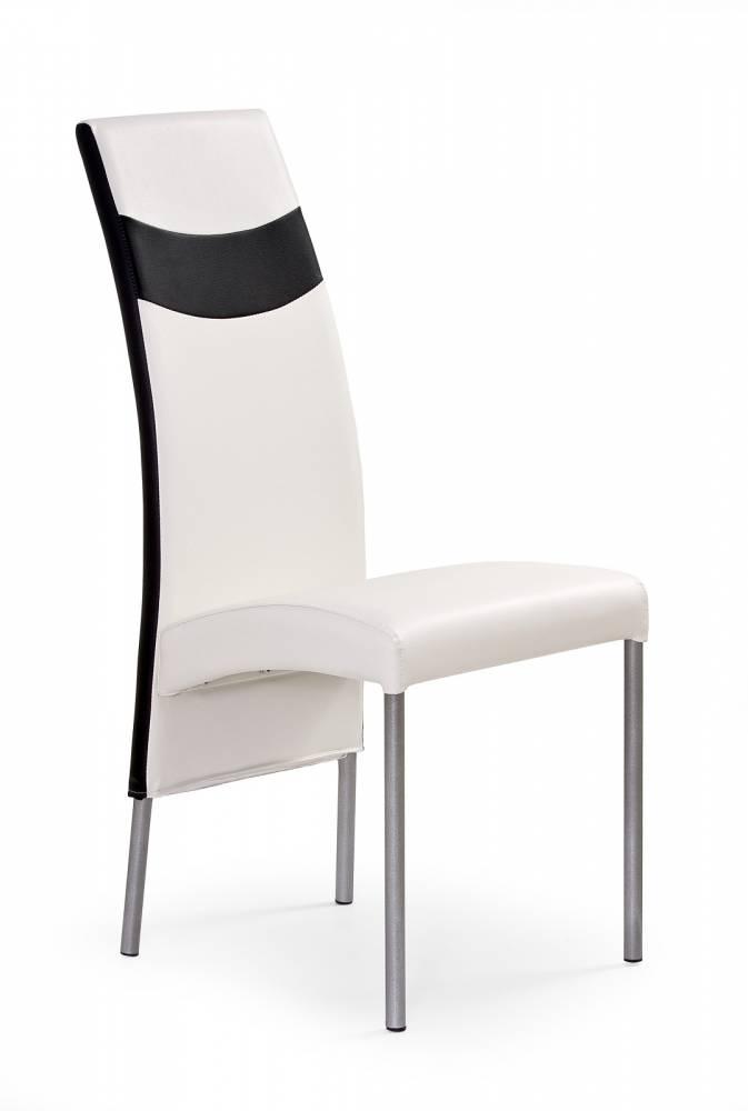 Jedálenská stolička K51 biela + čierna