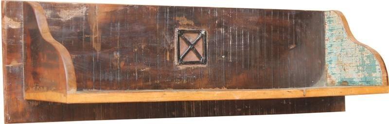 SPIRIT Nástenný regál #117 indické staré drevo