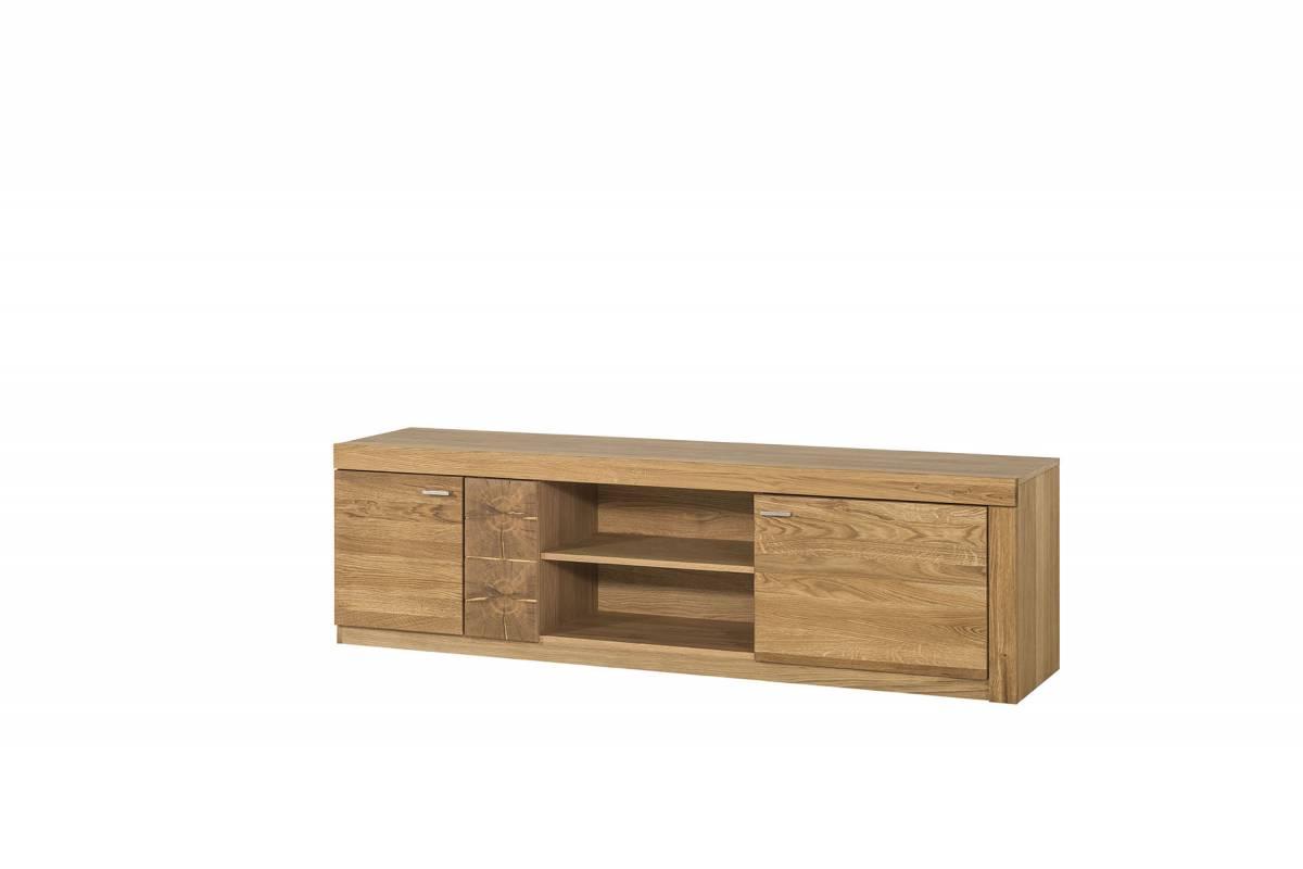 WELLE stolík pod TV 25 dub medový