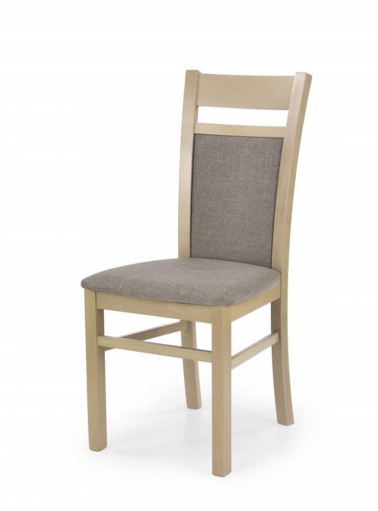 Jedálenská stolička Gerard 2 (dub sonoma + béžová)