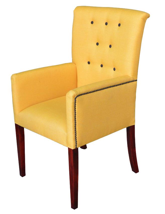 GERMANI jedálenská stolička, látka na výber