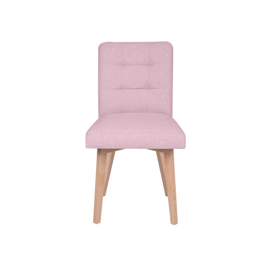 Ružová stolička Micadoni Home Lucio
