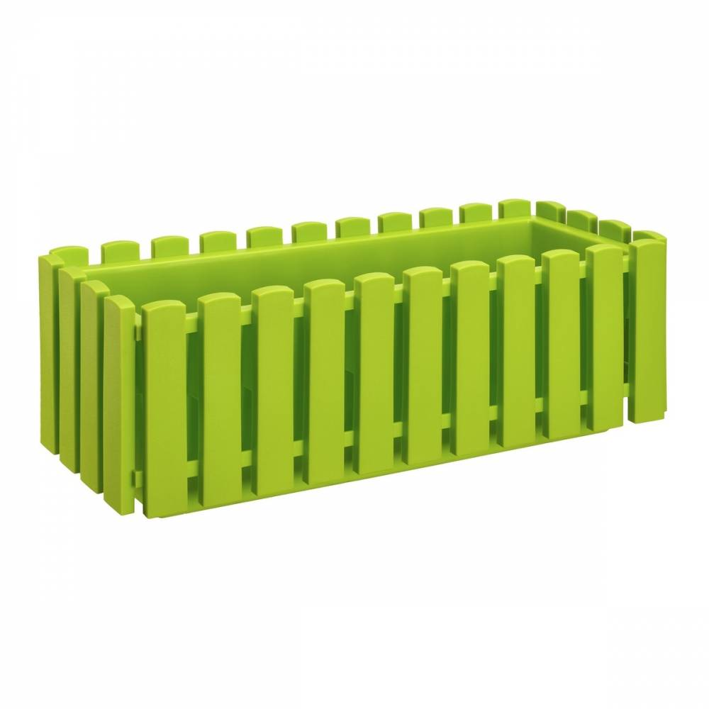 Plastkon Truhlík Fency 50 zelený 14 x 42 x 16 cm