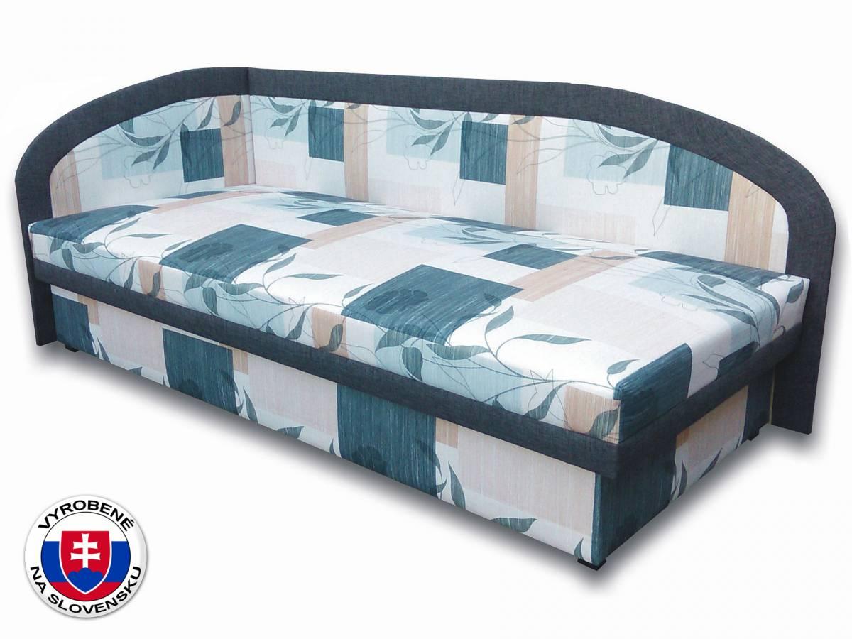 Jednolôžková posteľ (váľanda) 90 cm Melinda (Ramona 3A + Falcone 5) (L)