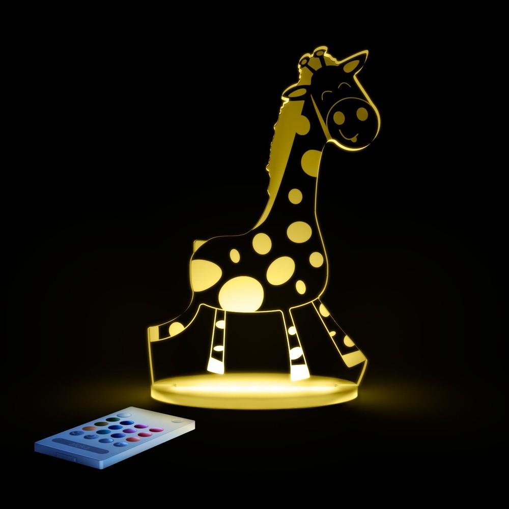 Detské LED nočné svietelko Aloka Giraffe