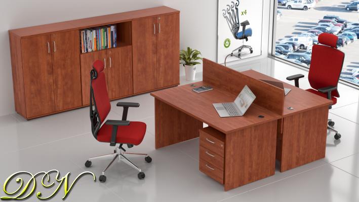 Rauman Zostava kancelárskeho nábytku Visio 2.6, calvados ZE 2.6 03
