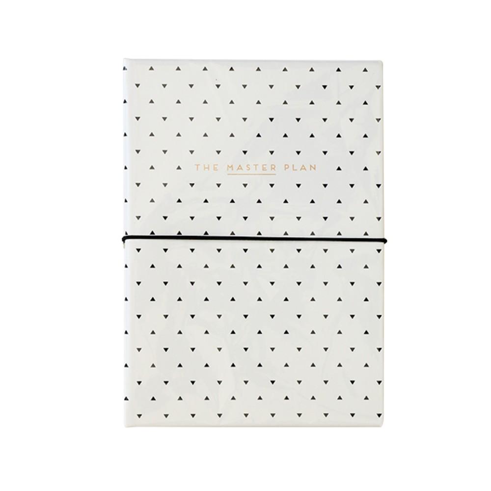 Koženkový zápisník s blokom na úlohy a perom Alice Scott by Portico Designs