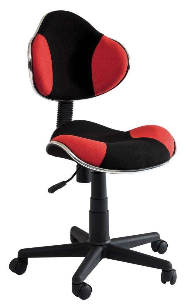 Kancelárske kreslo Q-G2 (červená + čierna)