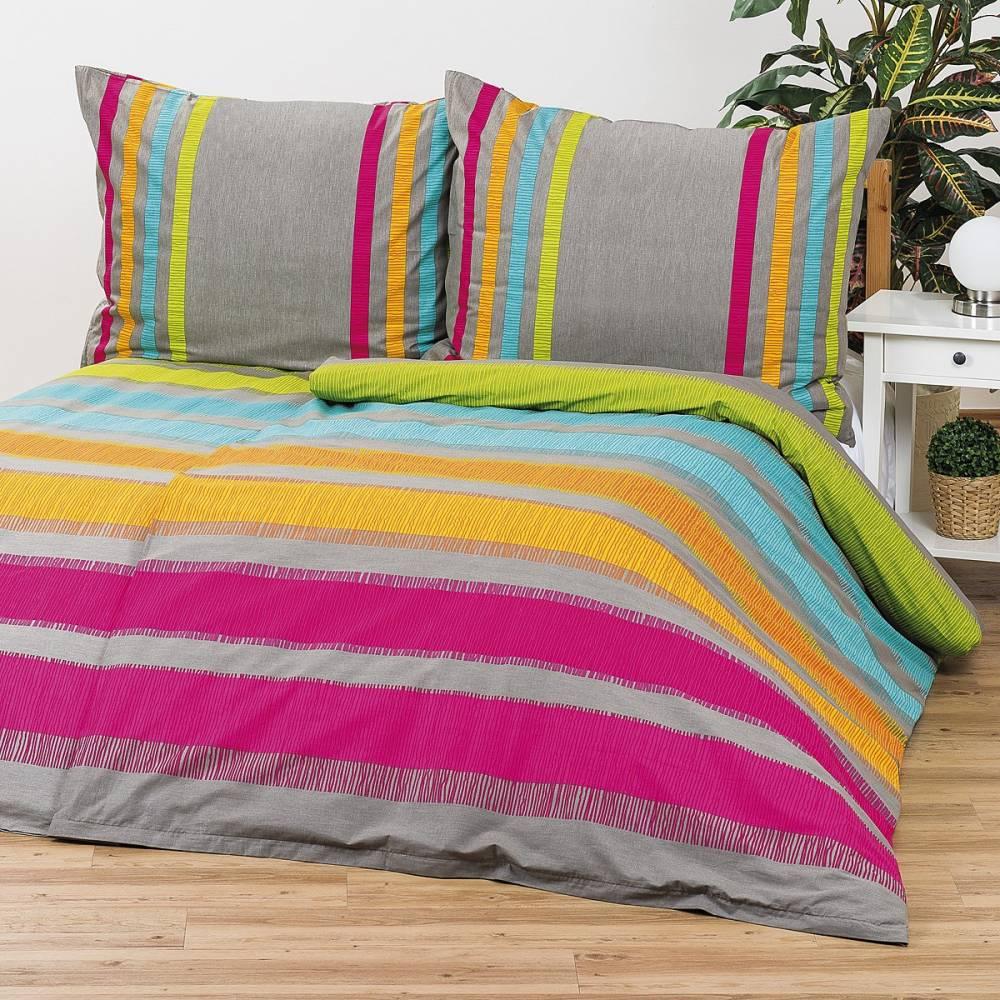 Bedtex obliečky ELLE oranžové bavlna, 140 x 220 cm, 70 x 90 cm