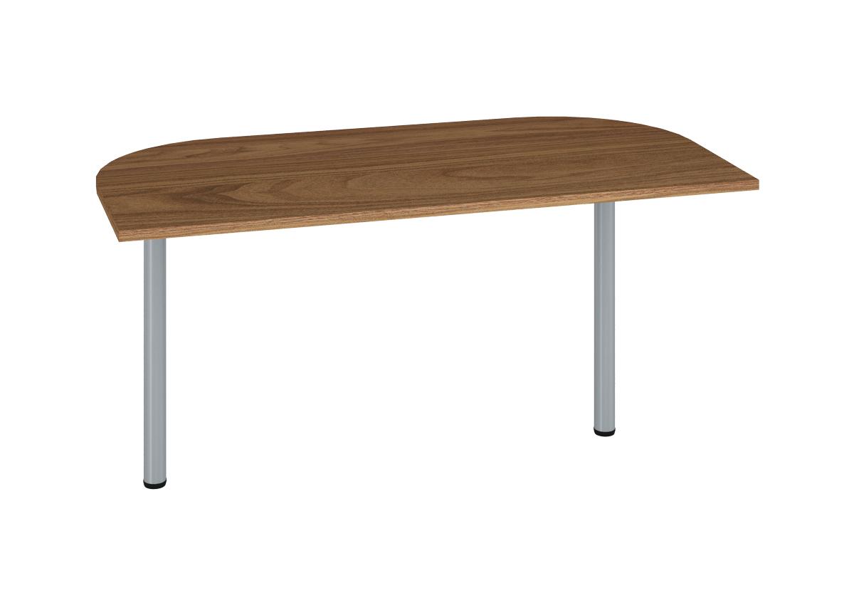 Prídavný kancelársky stôl OPTIMAL 17 / orech prírodný