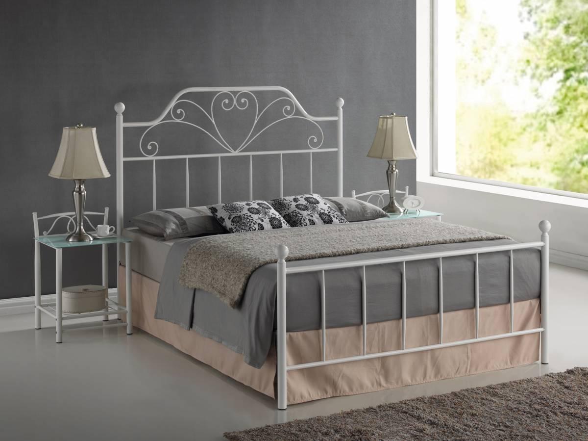 Manželská posteľ 160 cm Lima (s roštom)