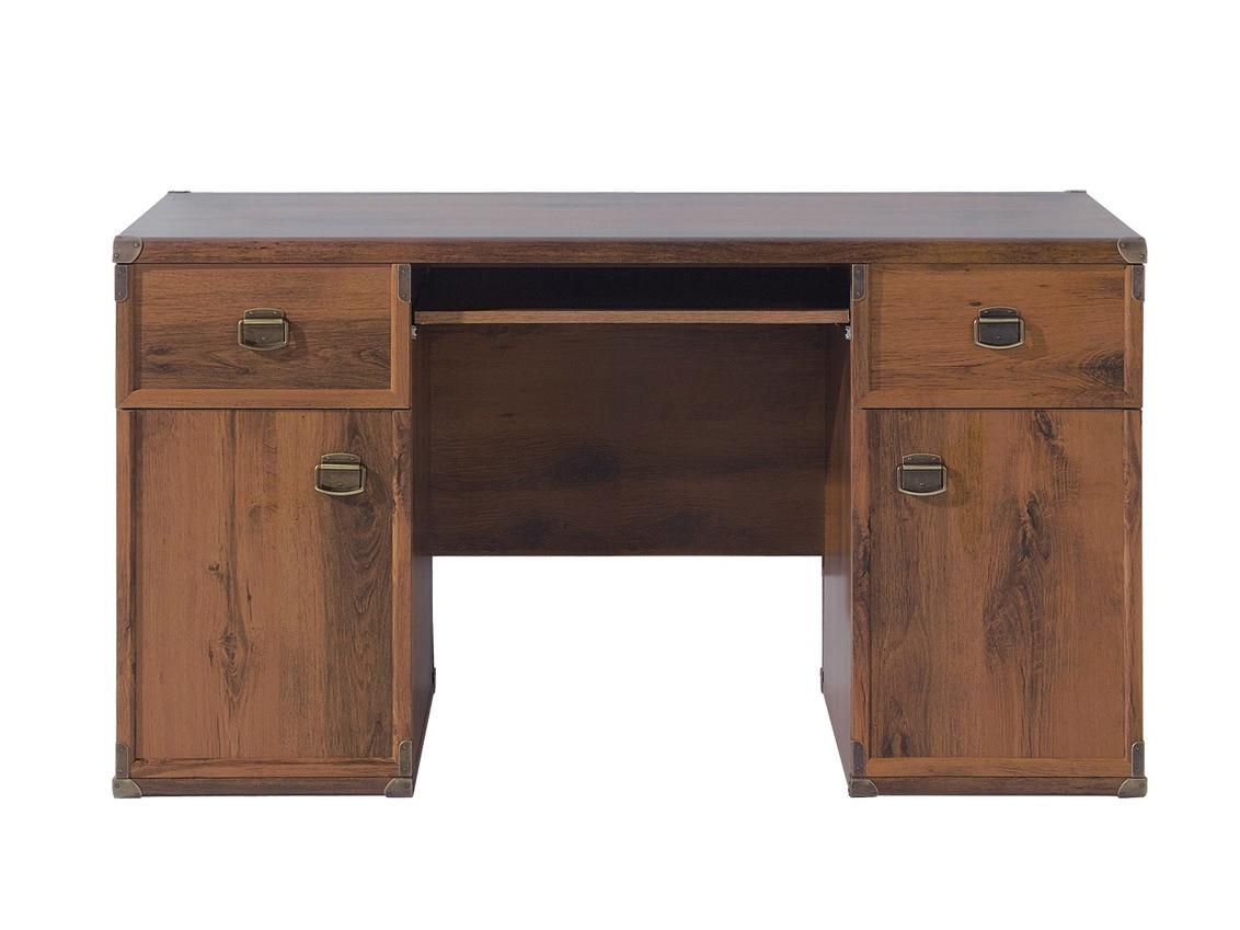 PC stolík INDIANA JBIU 2D2S (Dub sutter) *výpredaj