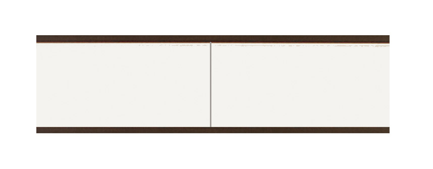 HANELL stolík pod TV sosna/choco CH4P