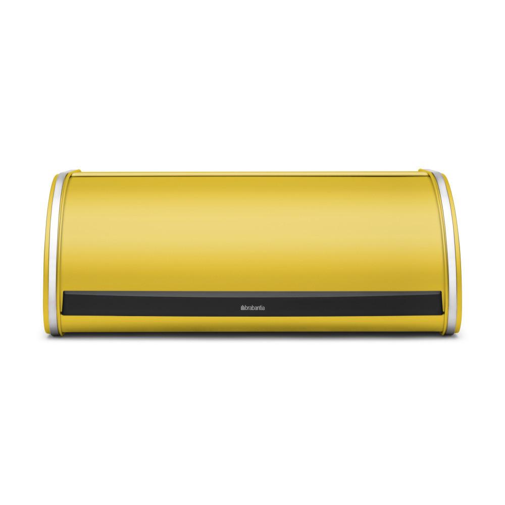 Žltý chlebník Brabantia Roll Top