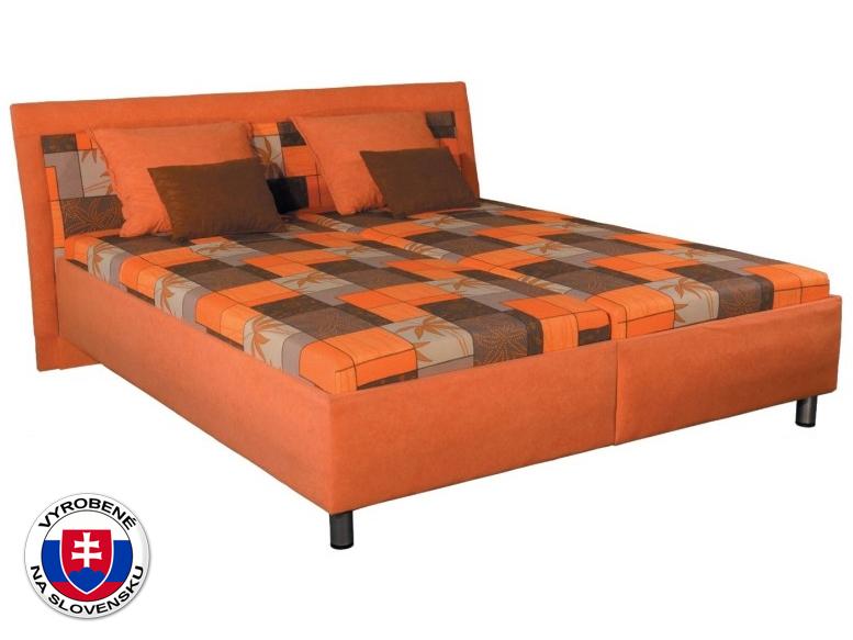 Manželská posteľ 180 cm Zoja (s molitanovým matracom)