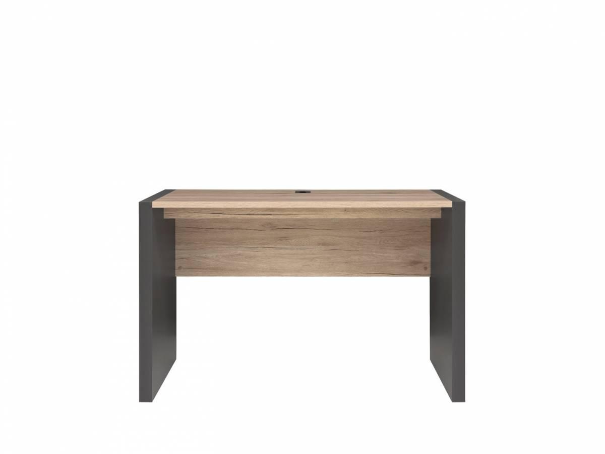 PC stolík Executive BIU/120 (Sivý wolfram + Dub san remo svetlý)