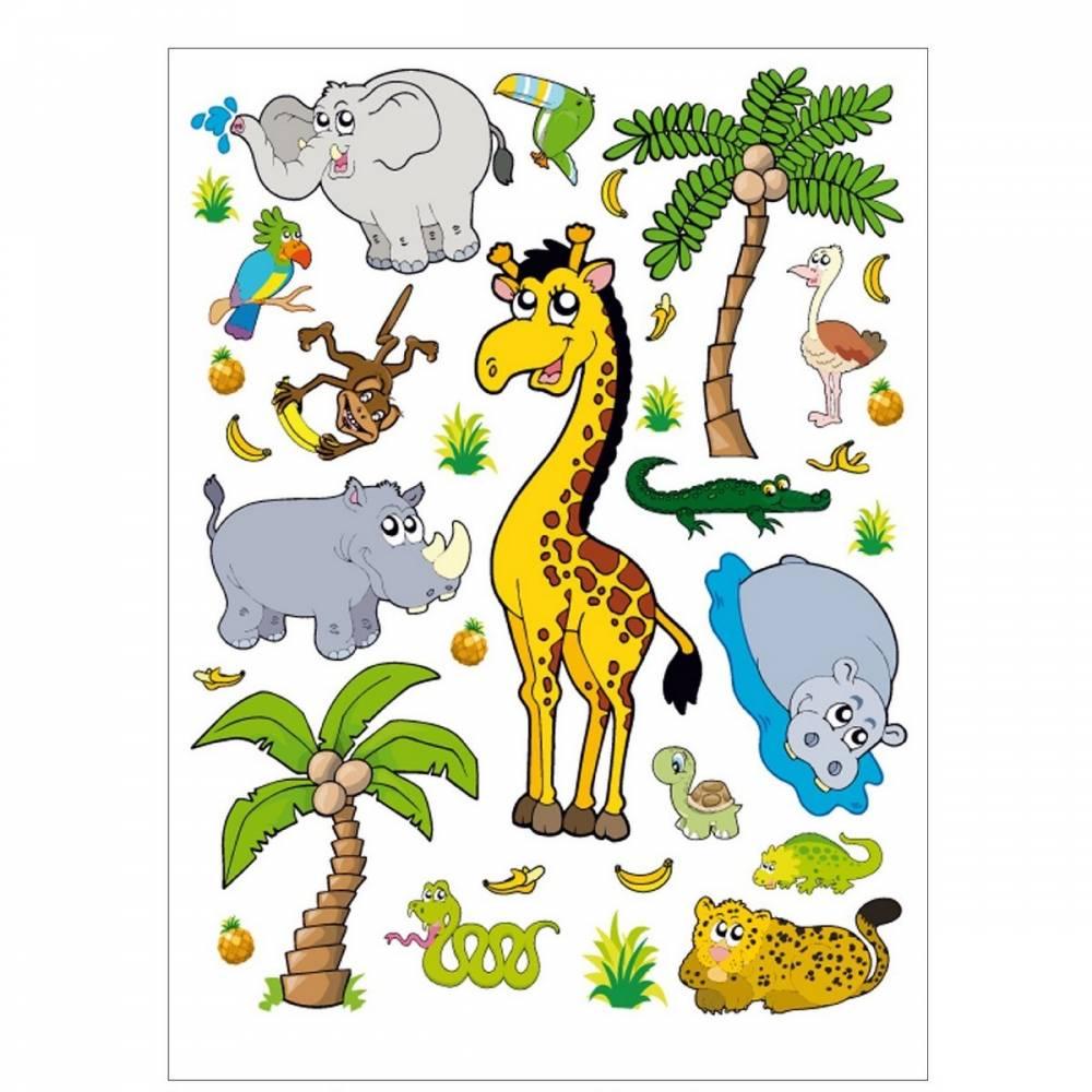 AG Art Samolepiaca dekorácia Džungľa, 45,5 x 65 cm