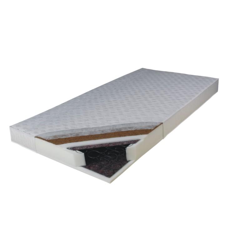 Pružinový matrac Kokos Medium 200x90 cm