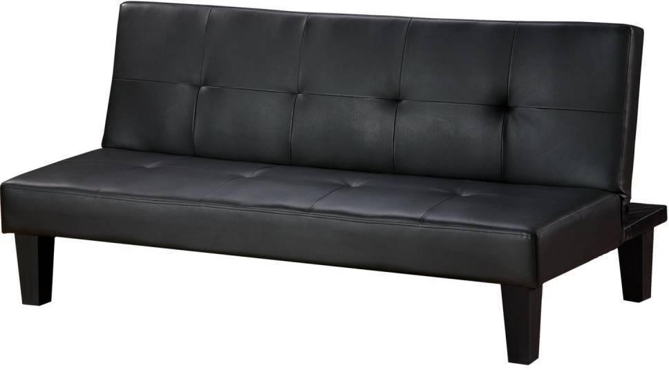 Sedačka BONN  čierna